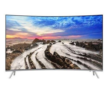 تصویر تلویزیون 55 اینچ 4K منحنی سامسونگ مدل 55NU8950