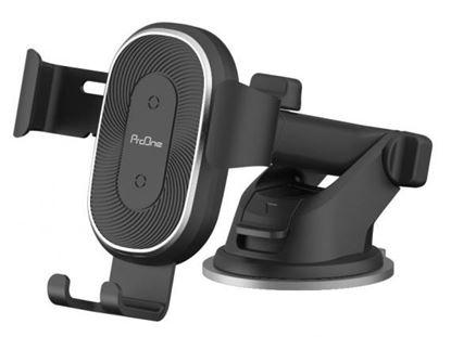 تصویر پایه نگهدارنده شیشه و دریچه کولری گوشی موبایل پرووان ProOne PHD-01 Car Holder