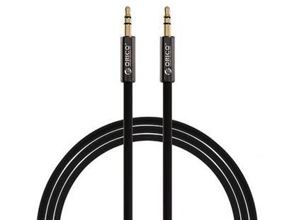 تصویر کابل انتقال صدا اوریکو Orico 3.5mm Male to Male AUX Cable XMC-10 1m