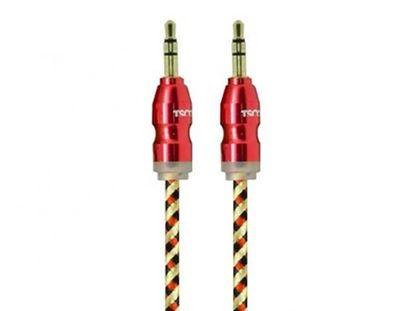 تصویر کابل انتقال صدای تسکو TSCO TC AU12 AUX Cable 1m