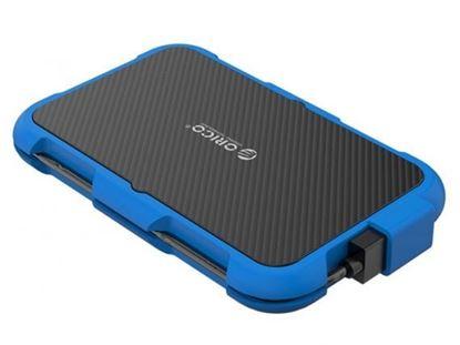 تصویر باکس هارد ضد ضربه اوریکو Orico 2739U3 2.5 inch USB3.0 Hard Drive Enclosure